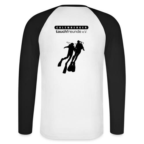 CTF Durchsichtig Vektor - Männer Baseballshirt langarm