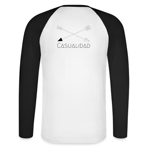 CASUALIDAD arrows - Maglia da baseball a manica lunga da uomo