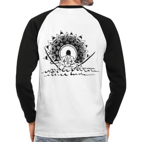 Samurai - Männer Baseballshirt langarm