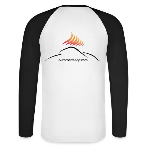 auroracottage.com - Männer Baseballshirt langarm