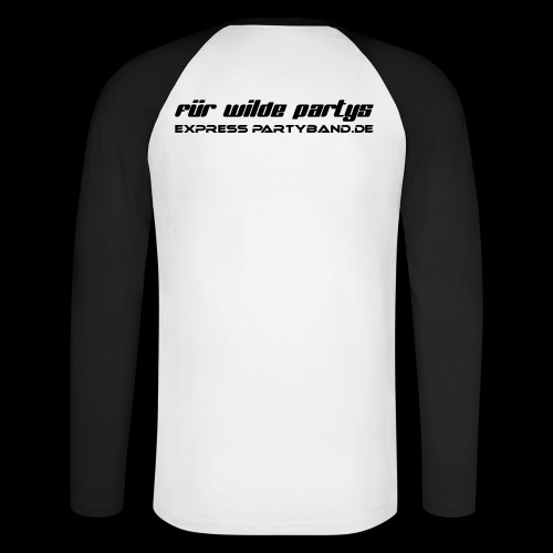 Für wilde Partys - Männer Baseballshirt langarm