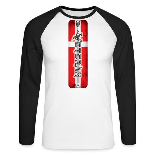VeteranSword - Langærmet herre-baseballshirt