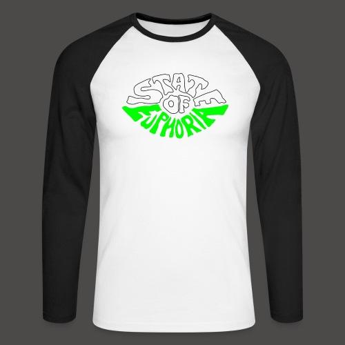 SOE logo - Men's Long Sleeve Baseball T-Shirt