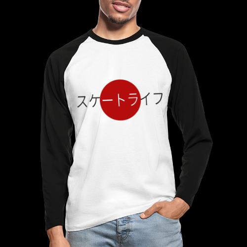 Skate life - T-shirt baseball manches longues Homme