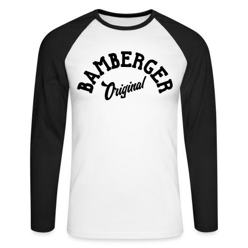 Bamberger Original - Männer Baseballshirt langarm
