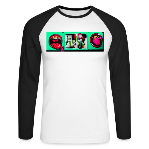 Toxin Rogue - Langærmet herre-baseballshirt