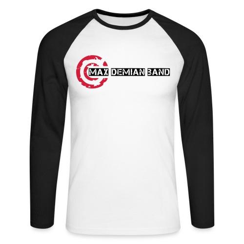 logo shirt deckkraftmaske - Männer Baseballshirt langarm