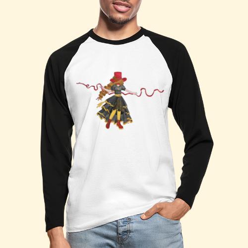 Ladybird - La célèbre uchronaute - T-shirt baseball manches longues Homme