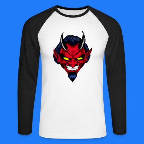 DEMON HEAD by Agill - T-shirt baseball manches longues Homme