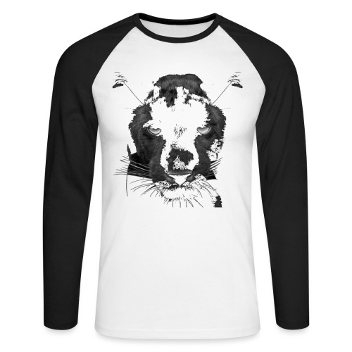 Pantere - T-shirt baseball manches longues Homme