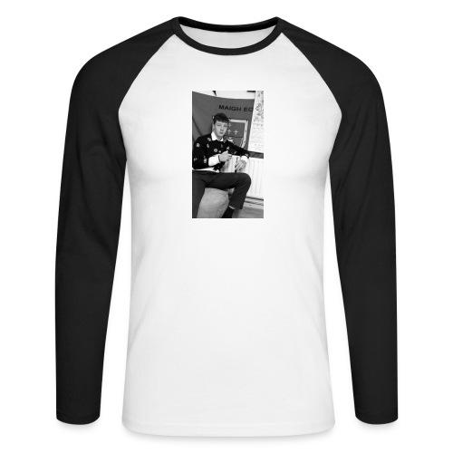 el Caballo - Men's Long Sleeve Baseball T-Shirt