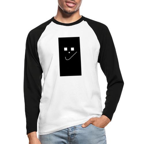 Smile :) - Männer Baseballshirt langarm