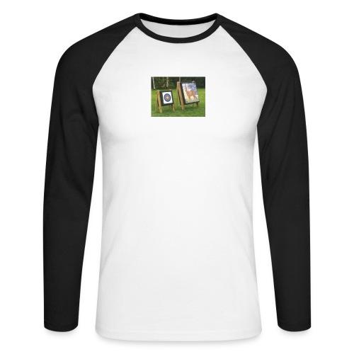 7EE4ABA5 03CC 4458 8D34 B019DF4DD5F1 - Langermet baseball-skjorte for menn