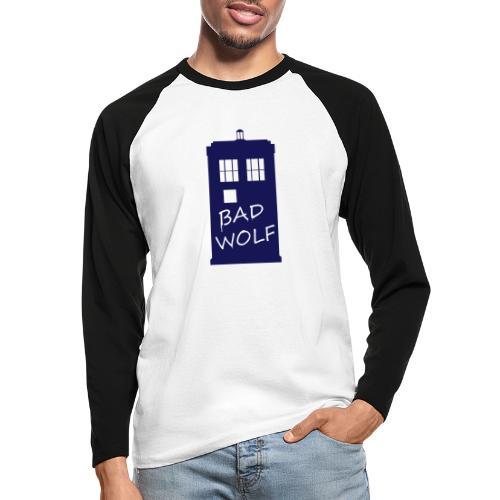 Bad Wolf Tardis - T-shirt baseball manches longues Homme