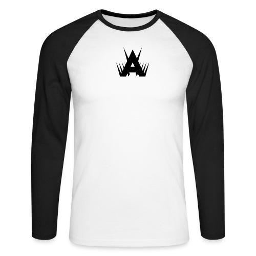 Abruft Sniping Logo (RAW) - Men's Long Sleeve Baseball T-Shirt
