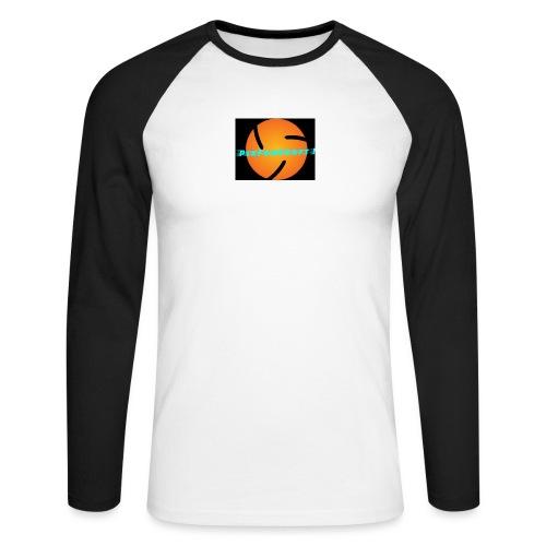 LOGO PixForCraft (Le logo de Juin 2017) - T-shirt baseball manches longues Homme