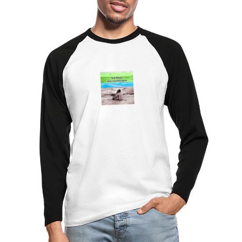 660A4930 87FD 4EB1 B2CC 08CABA14062C - Langærmet herre-baseballshirt