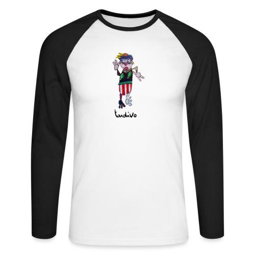 Tardivo - T-shirt baseball manches longues Homme