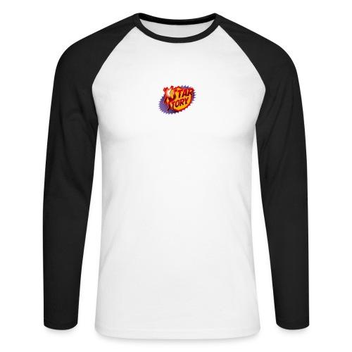 xstarstoryok - T-shirt baseball manches longues Homme