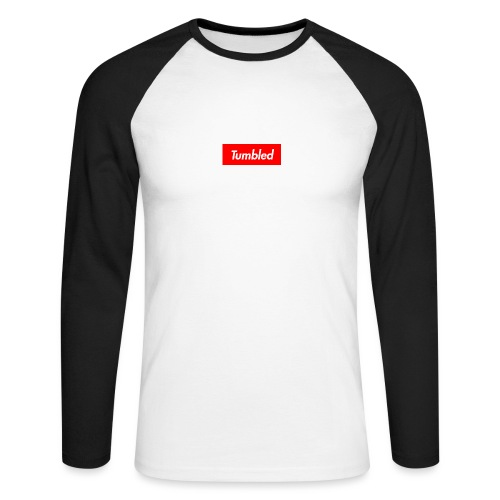Tumbled Official - Men's Long Sleeve Baseball T-Shirt