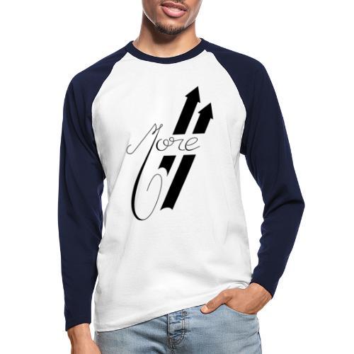 More : Faites Plus - T-shirt baseball manches longues Homme