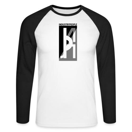 Industrypeople - Langermet baseball-skjorte for menn