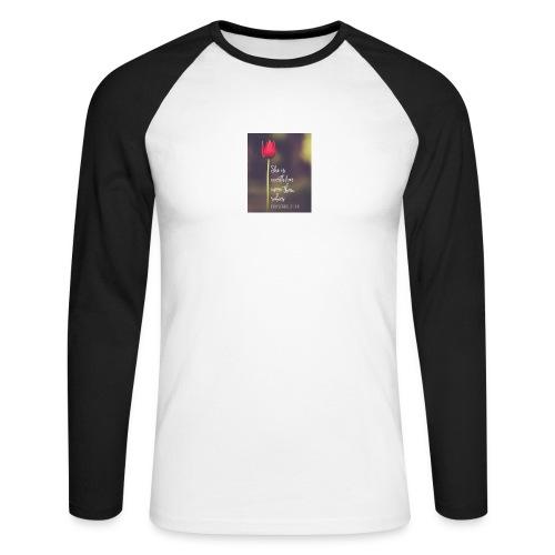 IMG 20180308 WA0027 - Men's Long Sleeve Baseball T-Shirt