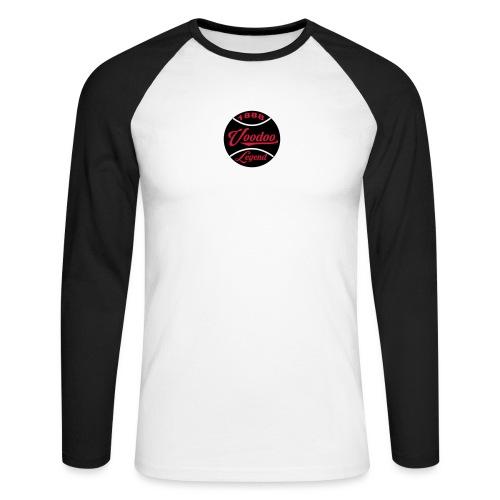 a8-2 - Men's Long Sleeve Baseball T-Shirt