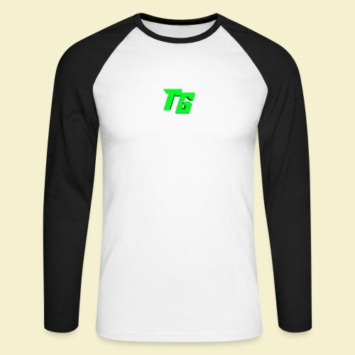 TristanGames logo merchandise - Mannen baseballshirt lange mouw