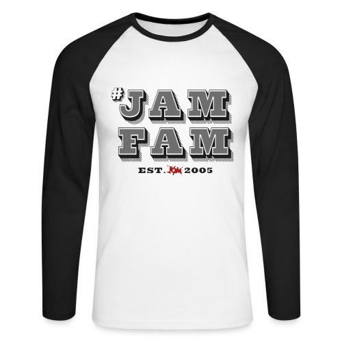 #JamFam - Men's Long Sleeve Baseball T-Shirt