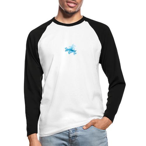 Hawaii Beach Club - Men's Long Sleeve Baseball T-Shirt