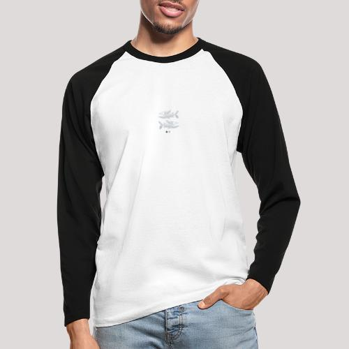 Fish05 - Men's Long Sleeve Baseball T-Shirt