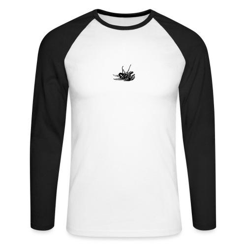 mouche morte - T-shirt baseball manches longues Homme