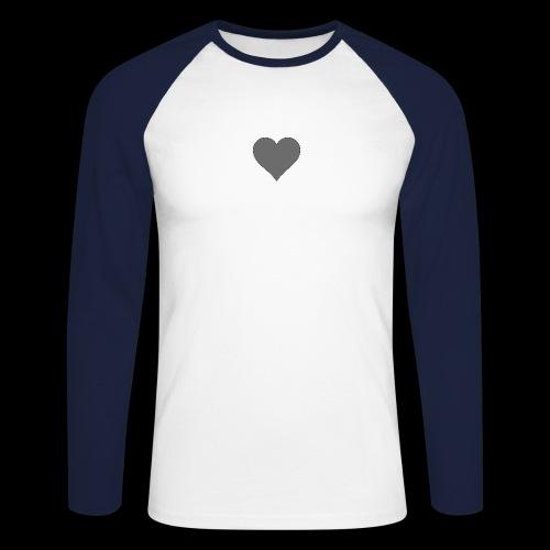 hearth design tee - Langærmet herre-baseballshirt