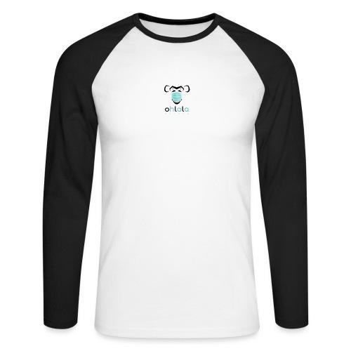 OHLALA CORONA WHITE - T-shirt baseball manches longues Homme