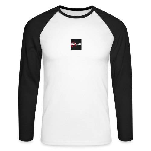 pro gamer magliette maglietta da uomo - Maglia da baseball a manica lunga da uomo