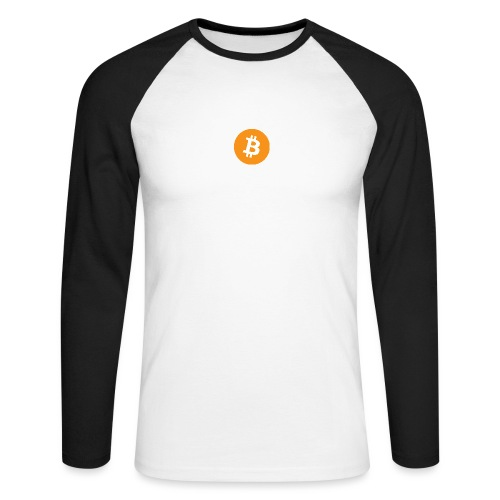 Bitcoin - Men's Long Sleeve Baseball T-Shirt