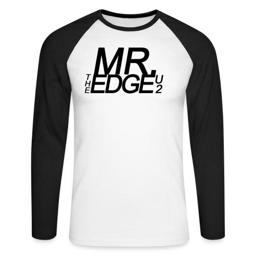 mredge - Men's Long Sleeve Baseball T-Shirt