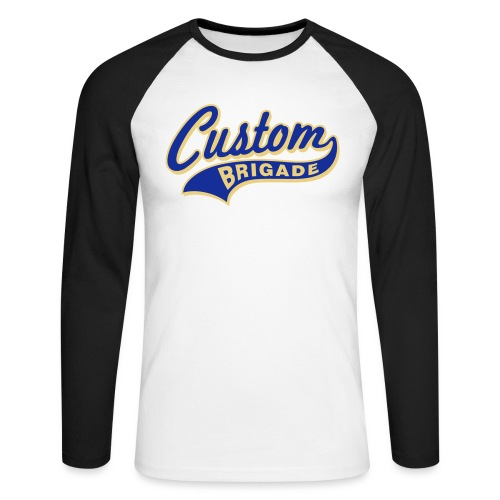 college3 - T-shirt baseball manches longues Homme