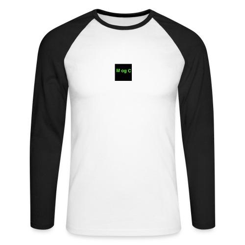 mogc - Langærmet herre-baseballshirt