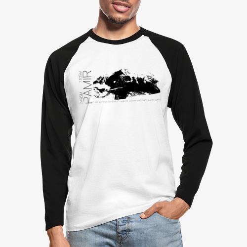 Pamir Expedition black - Men's Long Sleeve Baseball T-Shirt