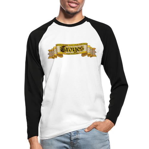 TROYES - T-shirt baseball manches longues Homme