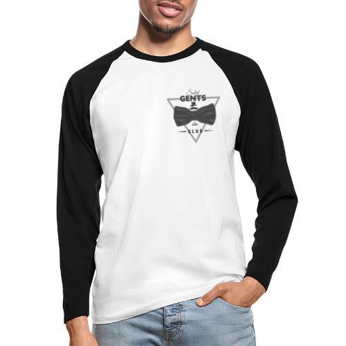 Solid Gents Club - Männer Baseballshirt langarm