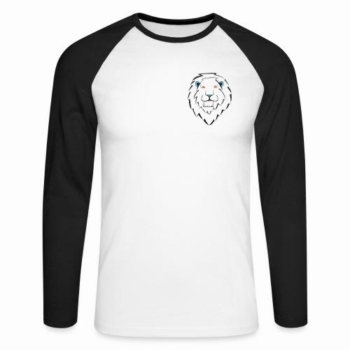 Logo1111 png - Mannen baseballshirt lange mouw