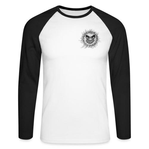T-shirt - Monstre particule - T-shirt baseball manches longues Homme