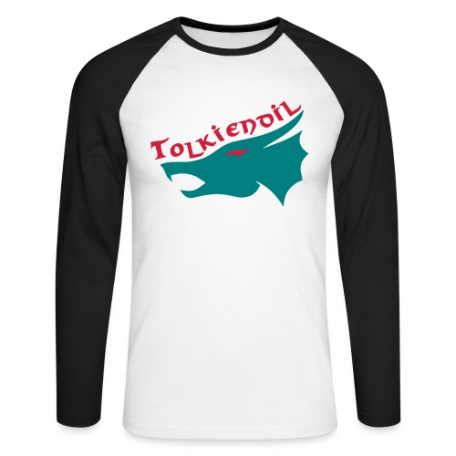 Tolkiendil & dragon - T-shirt baseball manches longues Homme