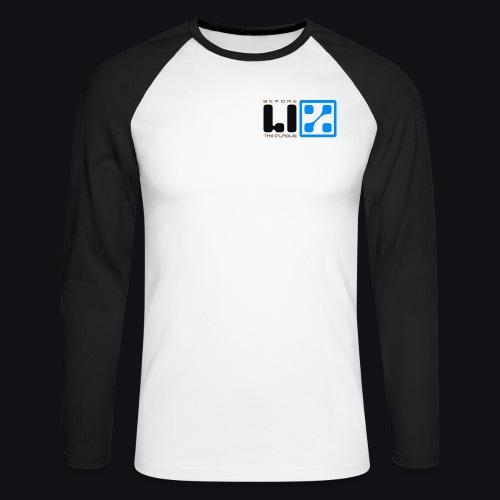 LIZ Before the Plague (Logo) - Maglia da baseball a manica lunga da uomo