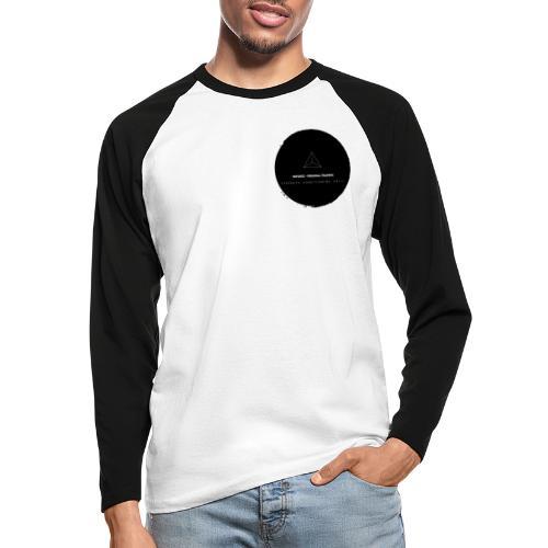 Triforce blend (black) - Männer Baseballshirt langarm