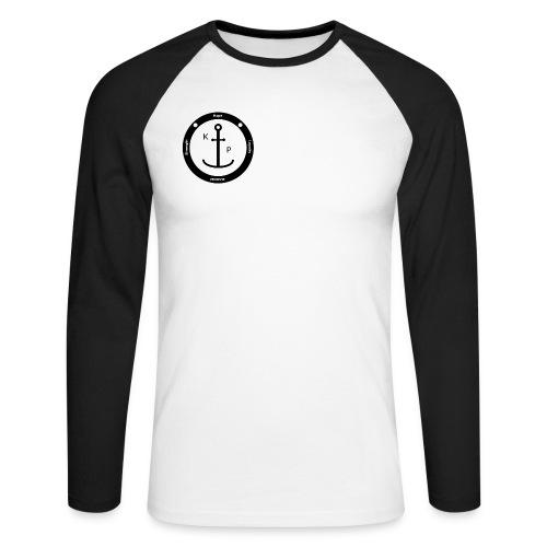 Logo2 0 - Männer Baseballshirt langarm