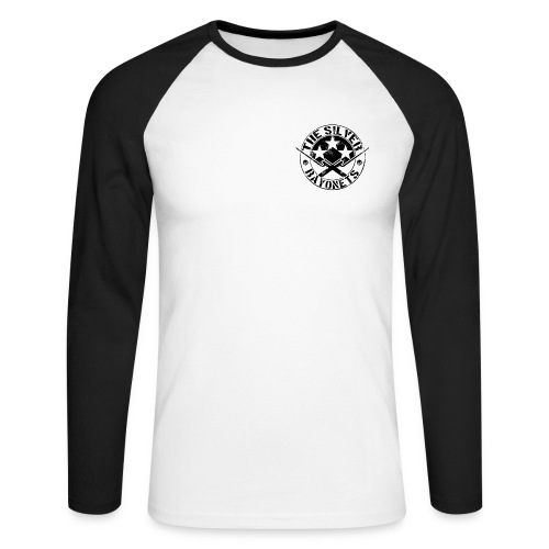 The Silver Bayonets (Logo) - Men's Long Sleeve Baseball T-Shirt